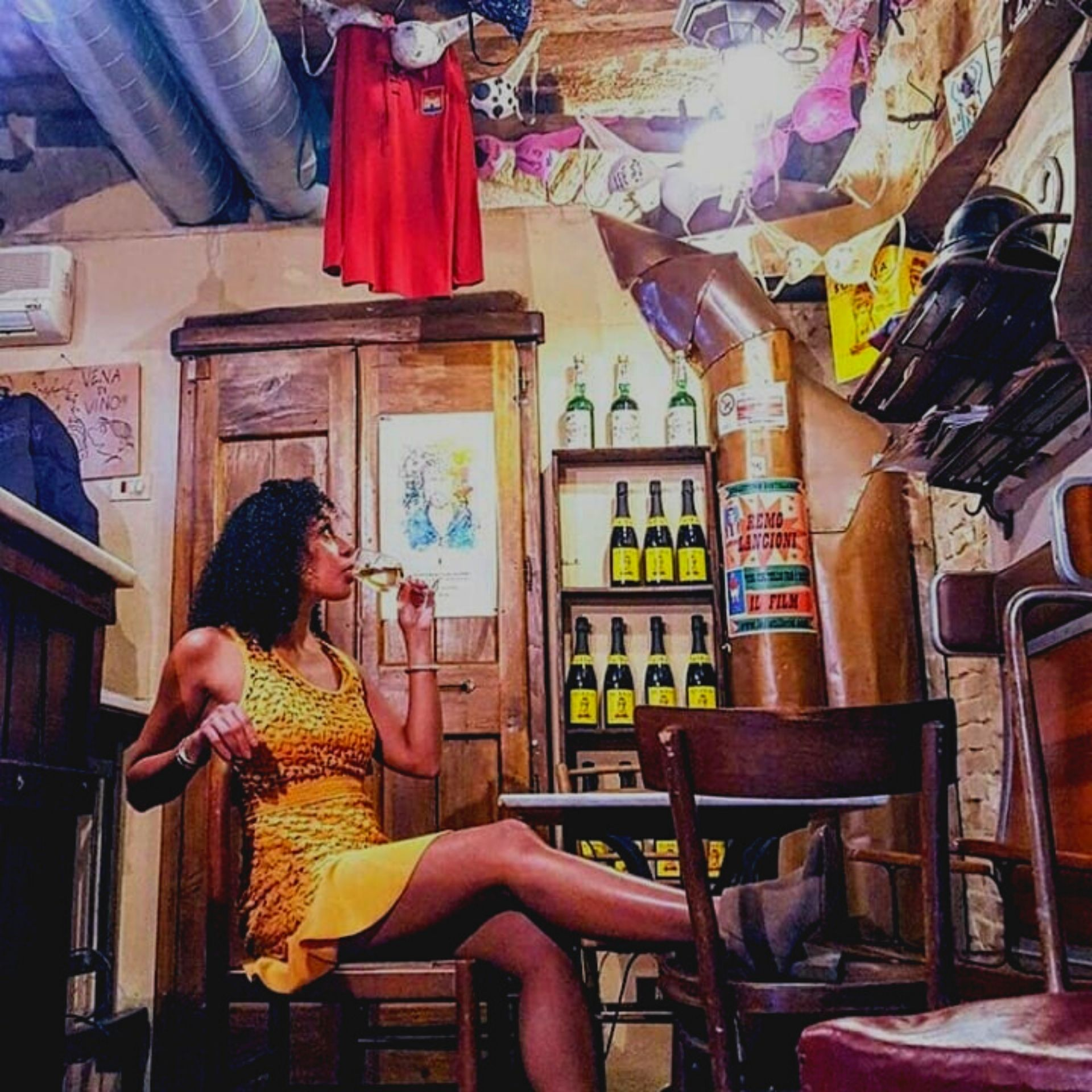 donna vena di vino